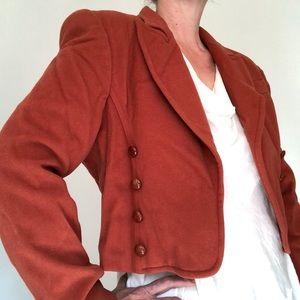 Mondi Cashmere Military Cropped Jacket